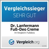 Fekunda präsentiert: Dr. Lanfermann Fuss Deo Creme